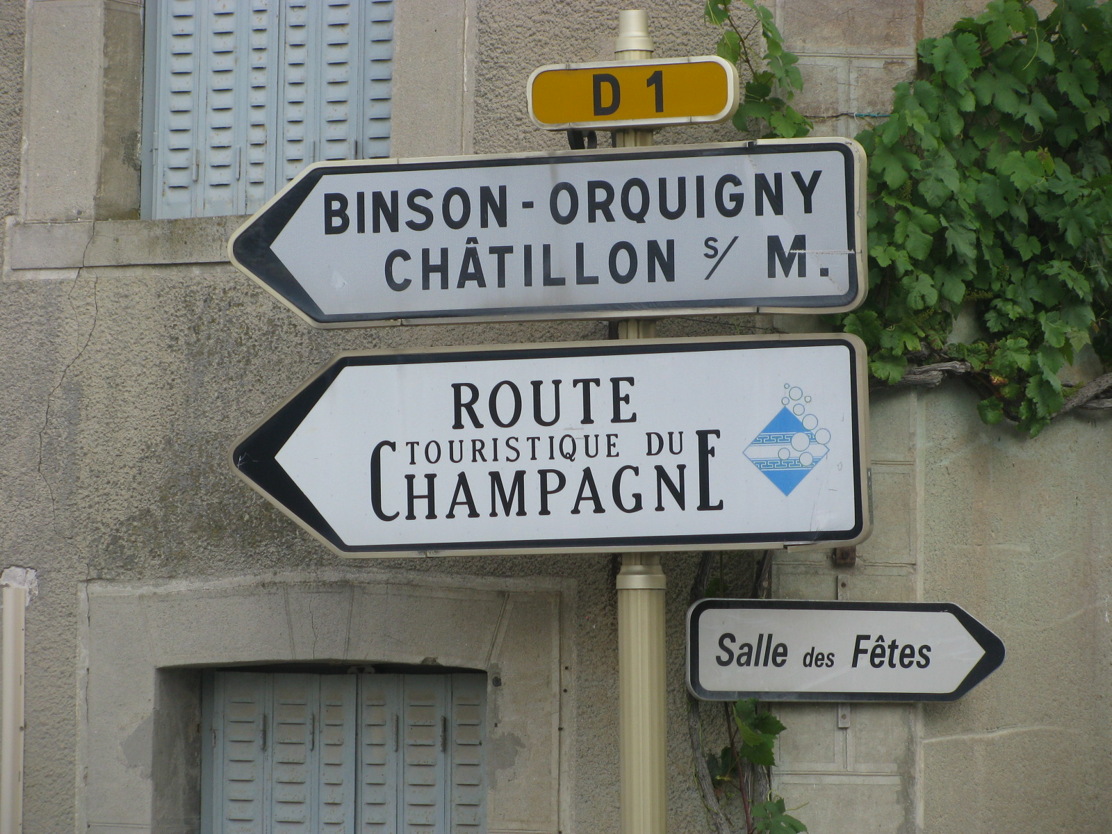 The Champagne tour